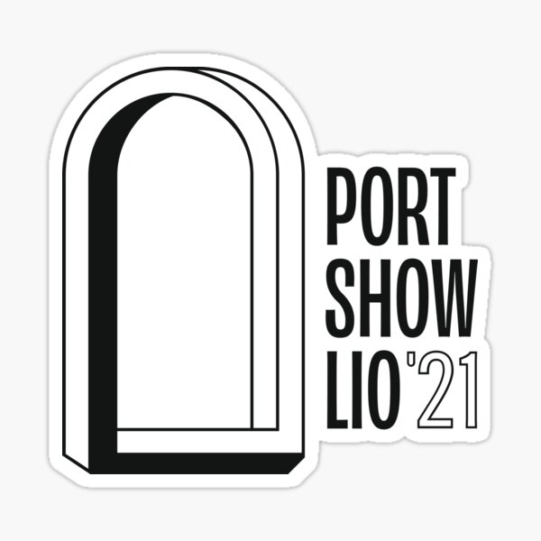 Portshowlio '21 Portal Sticker
