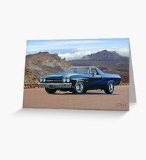 1970 Chevrolet El Camino SS Greeting Card