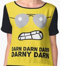 Bad Cop Darn Darn Darn Darny Darn T Shirt Chiffon Top