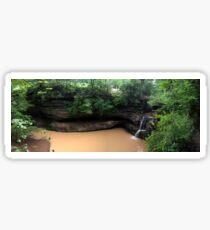 Upper Falls, Old Man's Cave, Hocking Hills Sticker