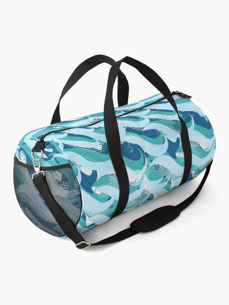 Alternate view of World Ocean waves  Duffle Bag