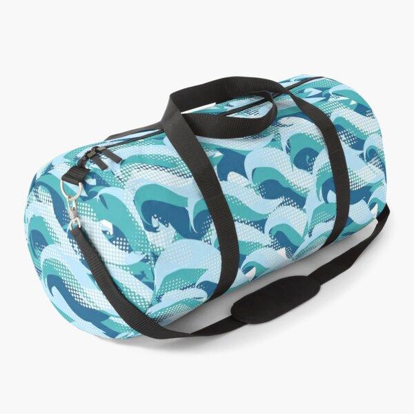 World Ocean waves  Duffle Bag