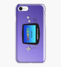 Game Boy Advance iPhone Case/Skin
