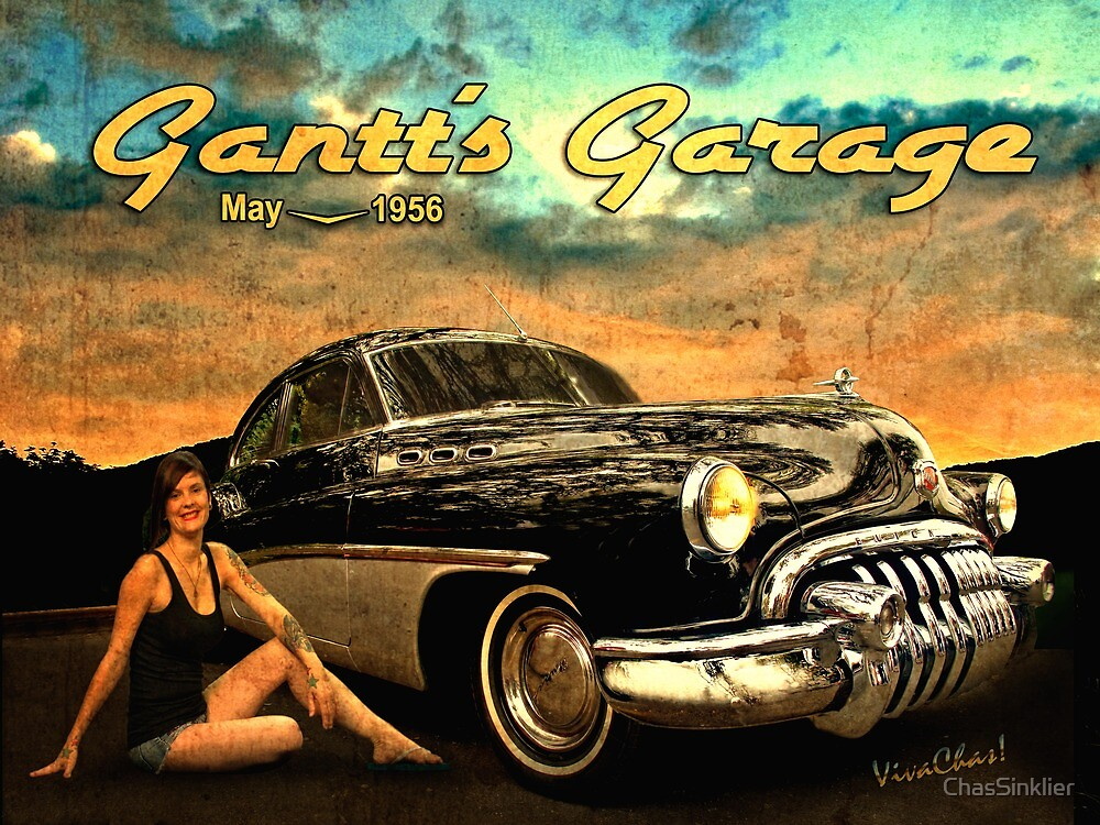 Roadmaster Betty and the Big Black Buick by ChasSinklier