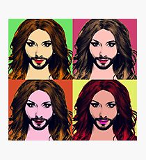 Conchita Wurst - Pop Art Photographic Print