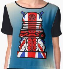 Dr Who - Jack Dalek Women's Chiffon Top