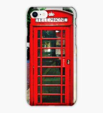 Phone Box Cover red iPhone Case/Skin