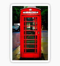 Phone Box Cover red Sticker