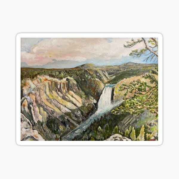 Canyon Lookout Point Sticker