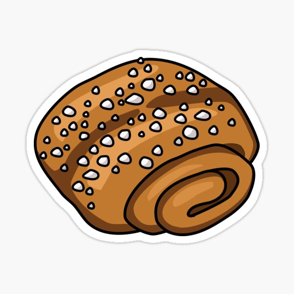 Lumerina – korvapuusti, cinnamon bun Sticker