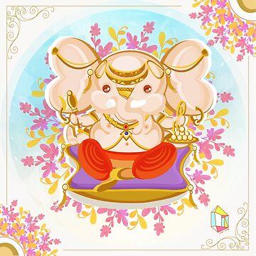 Ganesha  by centtaro