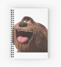duke secret life of pets Spiral Notebook