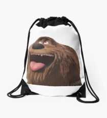 duke secret life of pets Drawstring Bag
