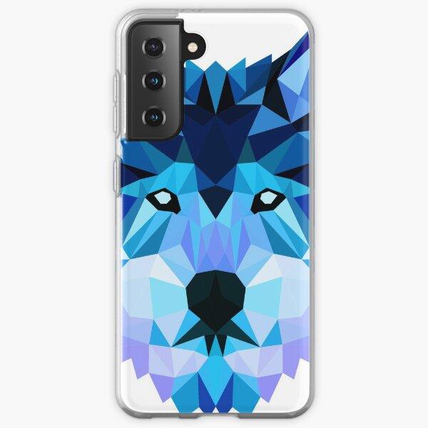 Blue Wolf Samsung Galaxy Soft Case