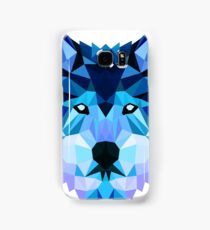 Blue Wolf Samsung Galaxy Case/Skin