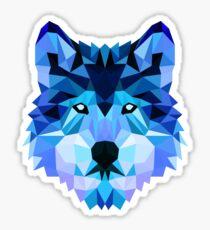 Blauer wolf Sticker