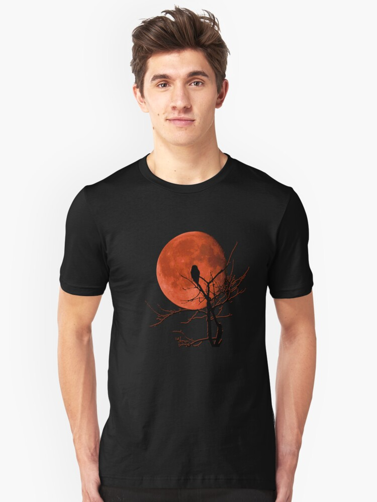 Harvest Moon Rising Unisex T-Shirt Front