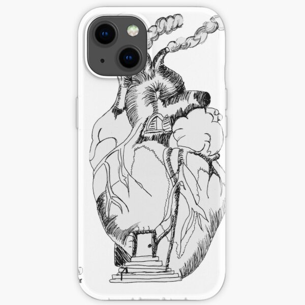 Home Is Where The Heart Is  iPhone Soft Case