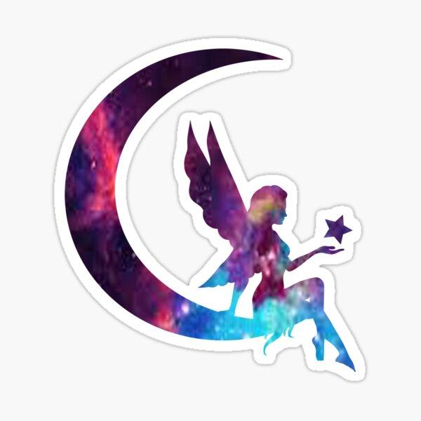Galaxy Fairy Sticker