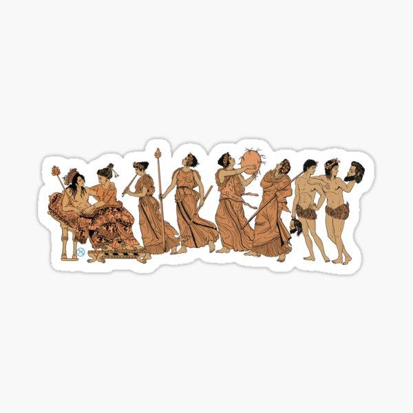 A festival to Dionysus - The Bacchanalia Sticker