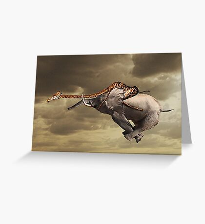The Charge of the not so light brigade Greeting Card