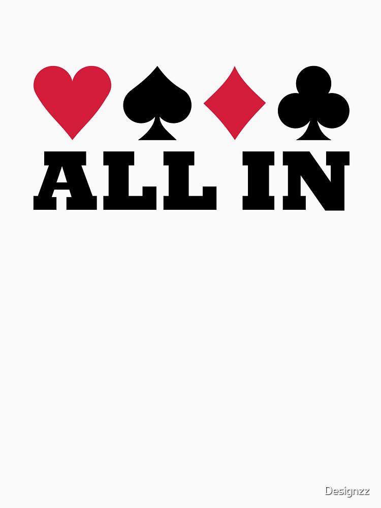Poker all in by Designzz