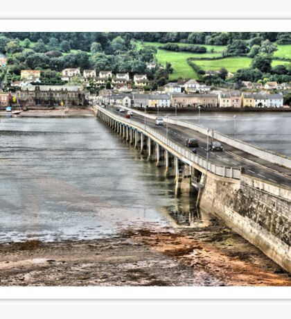 Shaldon Bridge Sticker