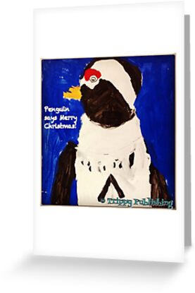 Cutie Pie Penguin - by Nadia by Trippy Publishing