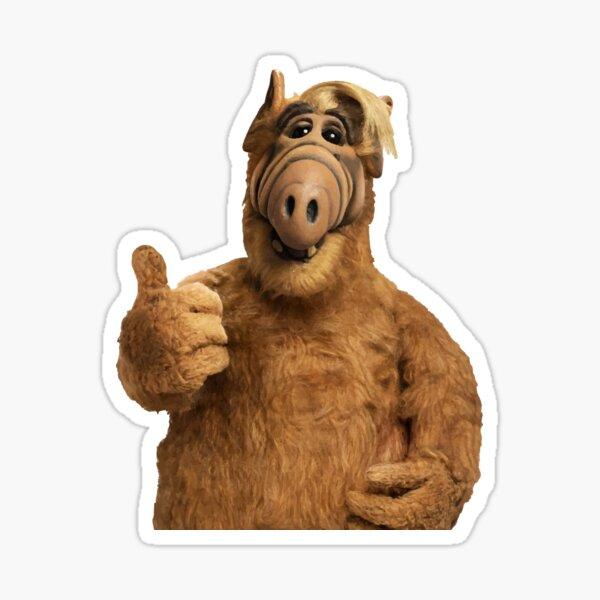 Alf con el pulgar hacia arriba Pegatina