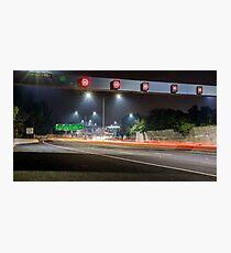 Citylink Freeway Lights Photographic Print