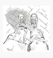 Sport shoes. Photographic Print