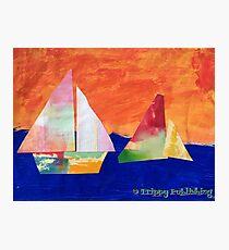 Sail Away - by Nadia Photographic Print