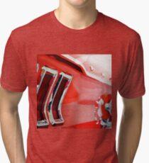 vintage car aquarell Tri-blend T-Shirt