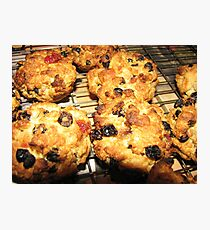 Rock Cakes Hot From The Oven Photographic Print