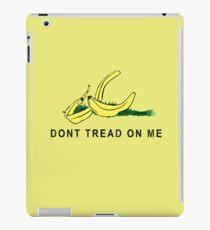 Vintage Banana Gadsen Flag Spoof iPad Case/Skin