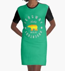 Skagway Explorer Graphic T-Shirt Dress