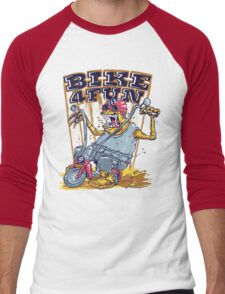Bike 4 Fun 578 Men's Baseball ¾ T-Shirt