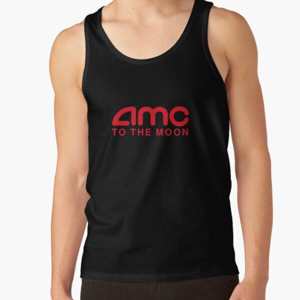 AMC To The Moon Parody Stocks Investor Tank Top