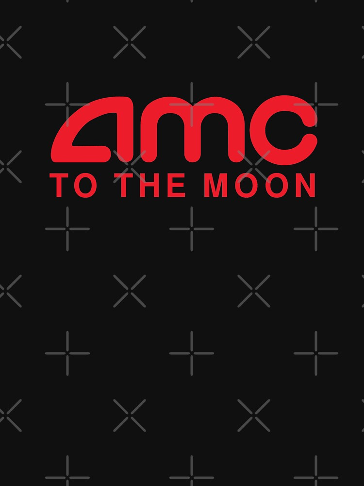 AMC To The Moon Parody Stocks Investor by Aetha
