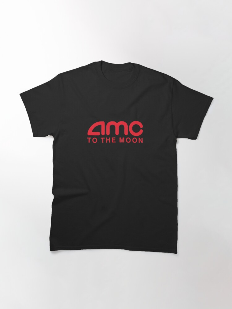 Alternate view of AMC To The Moon Parody Stocks Investor Classic T-Shirt