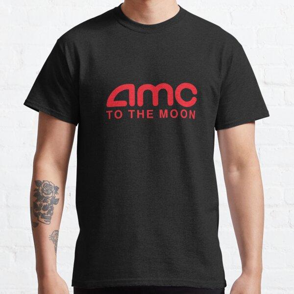 AMC To The Moon Parody Stocks Investor Classic T-Shirt