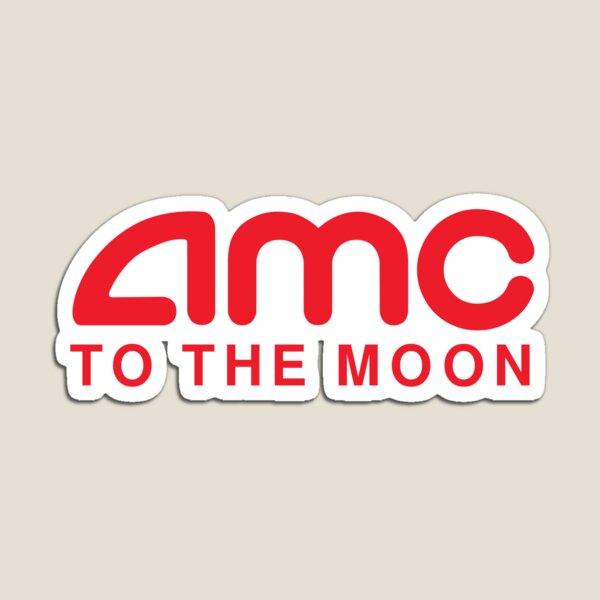 AMC To The Moon Parody Stocks Investor Magnet