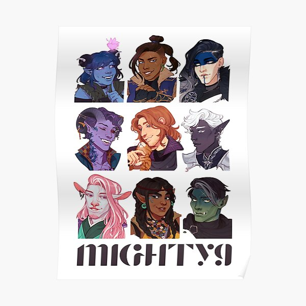 critical role / mighty nein Poster