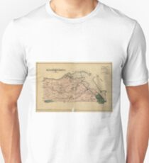 Vintage Map of Alexandria County Virginia (1878) Unisex T-Shirt