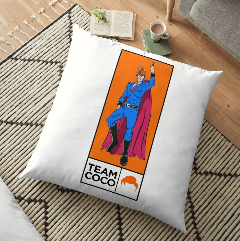 Conan needs a Villain Floor Pillow