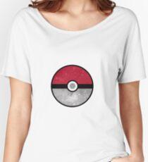 Galaxy Pokemon Pokeball Women's Relaxed Fit T-Shirt