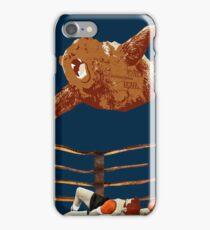 flaying bear iPhone Case/Skin