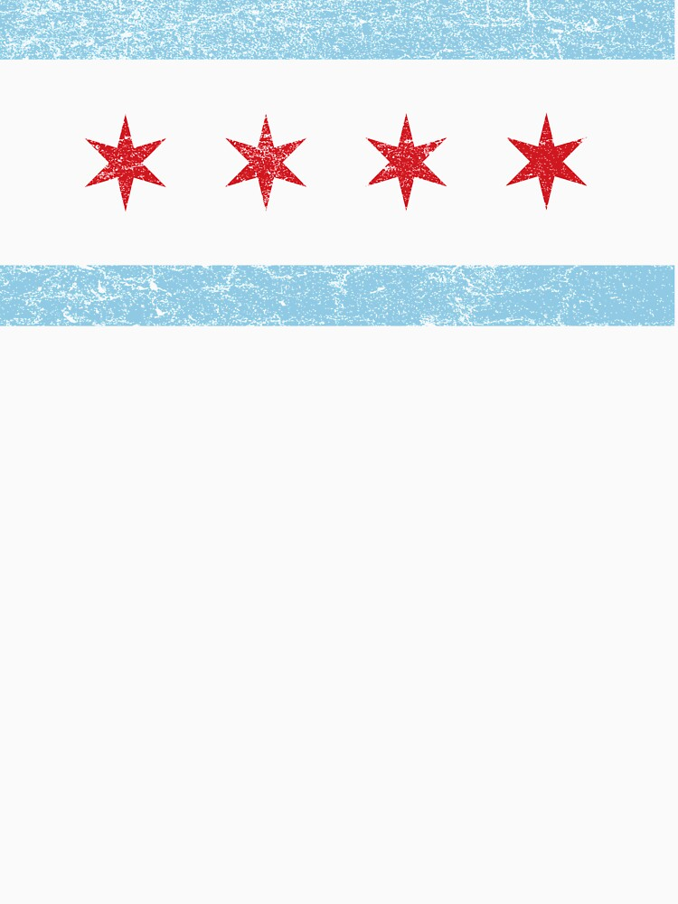 Vintage Chicago Flag | Unisex T-Shirt
