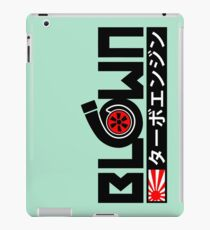 Turbo Engine iPad Case/Skin