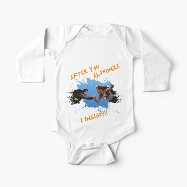 Point Break- After you Alphonze... Long Sleeve Baby One-Piece
